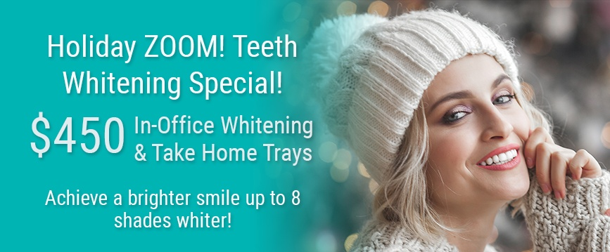 Holiday Zoom Whitening Special